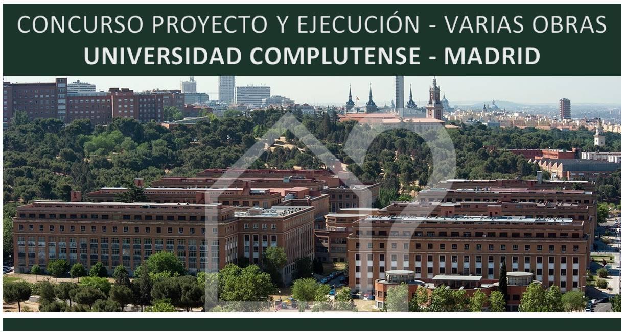 Asesorarq concurso vaios universidad complutense madrid for Universidad complutense de madrid arquitectura