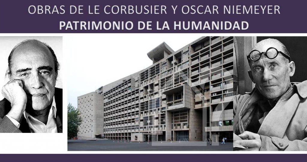 obras de le corbusier y niemeyer declaradas patrimonio de la humanidad