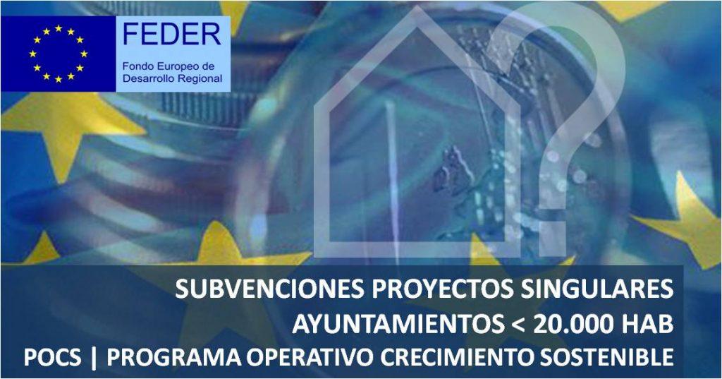 asesorArq-subvenciones-Programa FEDER ayuntamientos