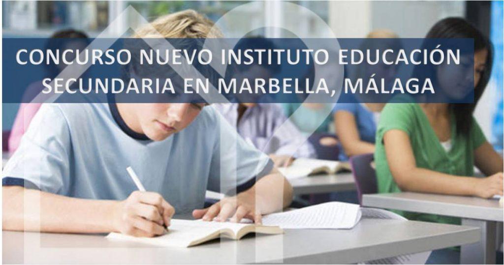 asesorArq-Concurso-INSTITUTO-SECUNDARIA-MARBELLA-MALAGA