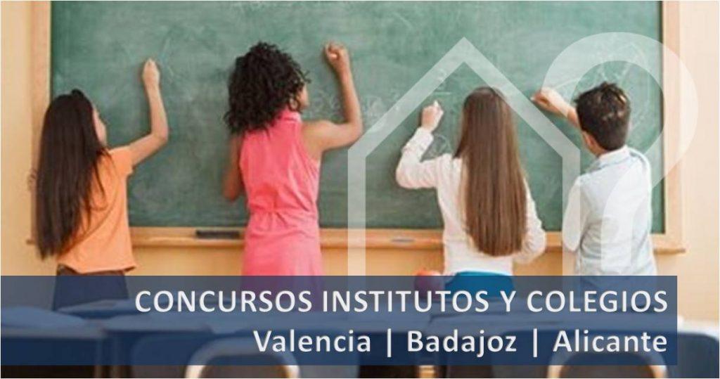 asesorArq-concursos-colegios-valencia-badajoz-alicante