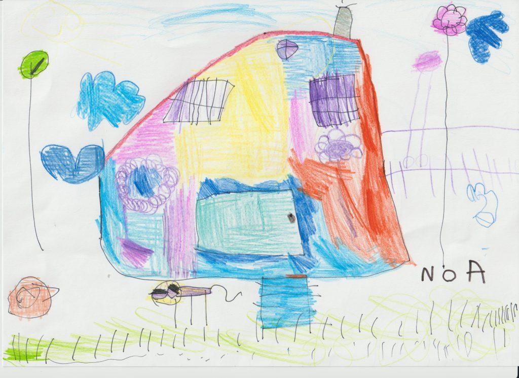 CAT-1-1-Hasta 5 años-1-Casa de colores